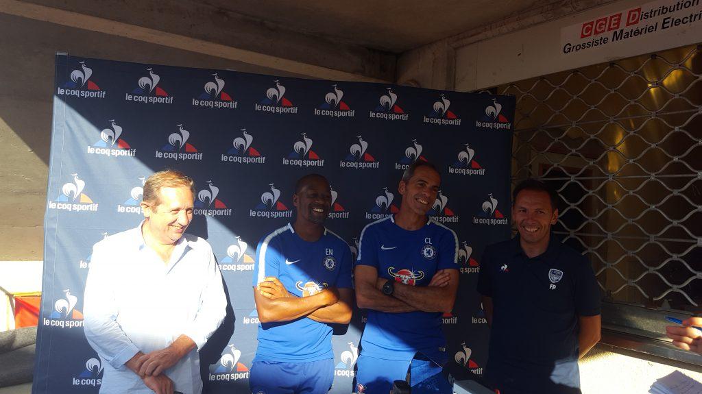 match amical BPFC Bergerac Chelsea