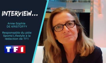 Anne-Sophie DE KRISTOFFY : «C'est intéressant d'entendre Grégoire Margotton et Bixente Lizarazu commenter du foot féminin»