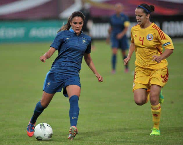 Loana Bortan football féminin Roumanie