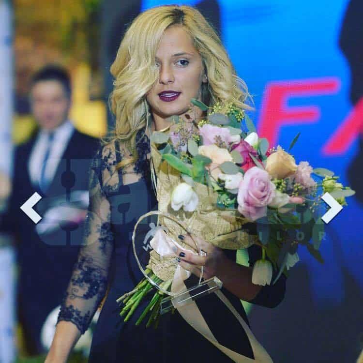 Loana a été élue meilleure joueuse de la Roumanie en 2016