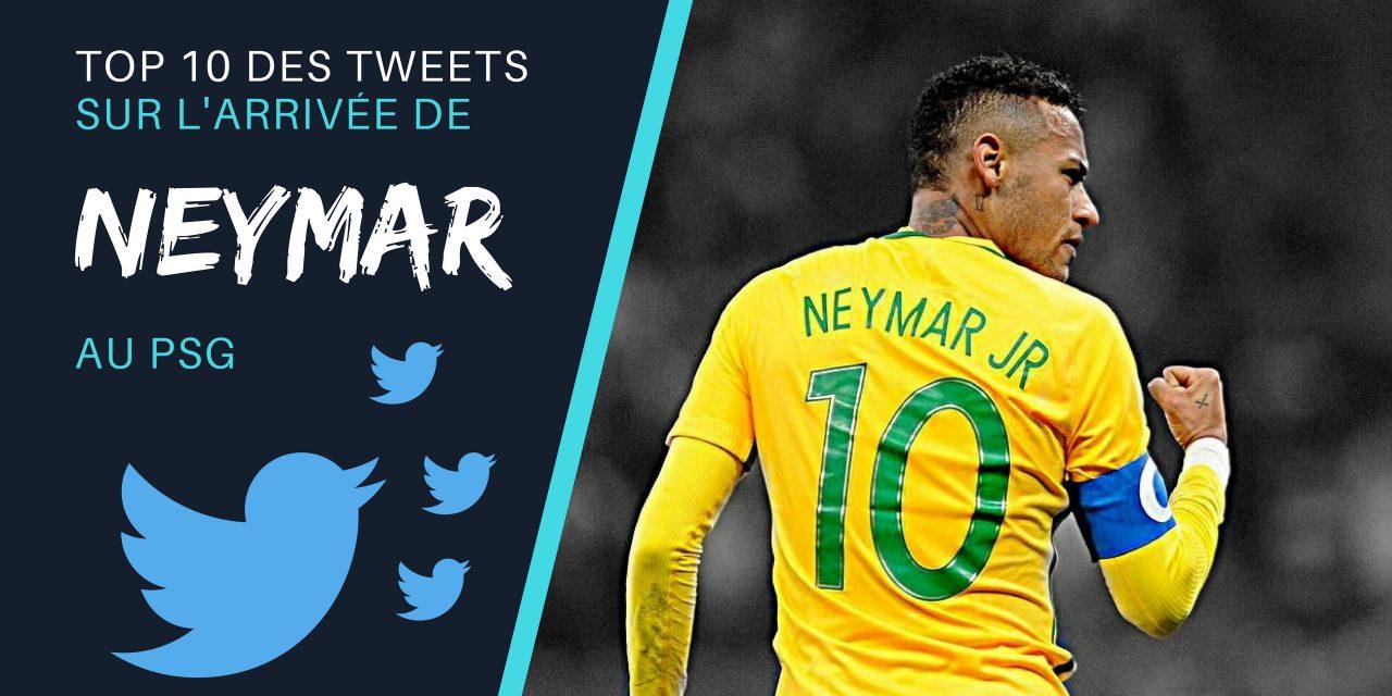 Les 10 meilleurs tweets en réaction à l'arrivée de Neymar au PSG