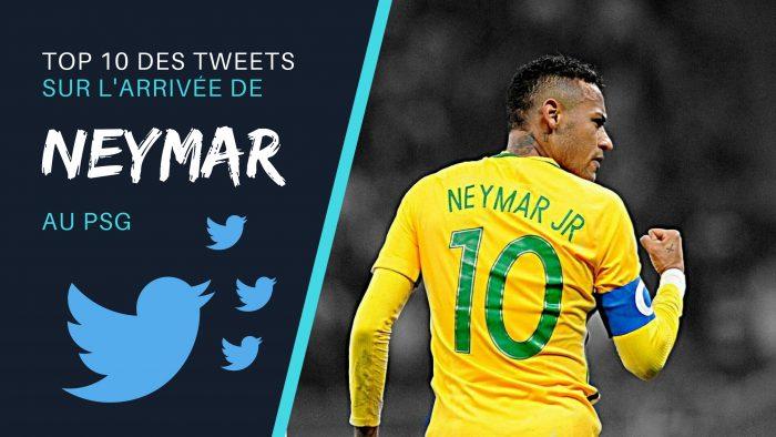 top des tweets de neymar au psg