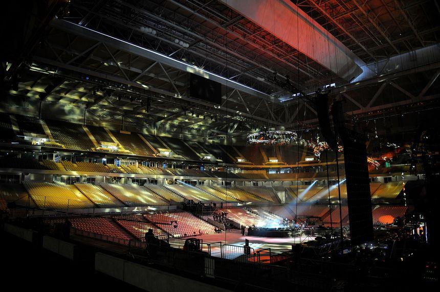 concerts au stade pierre mauroy à Lille
