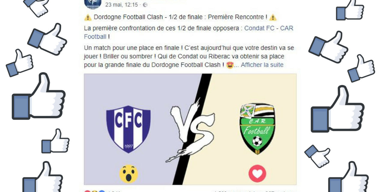 Dordogne Football Clash : cette initiative du District de Dordogne fait le buzz !
