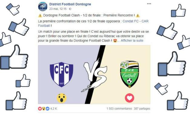 Dordogne Football Clash : cette initiative du District de Dordogne fait le buzz !