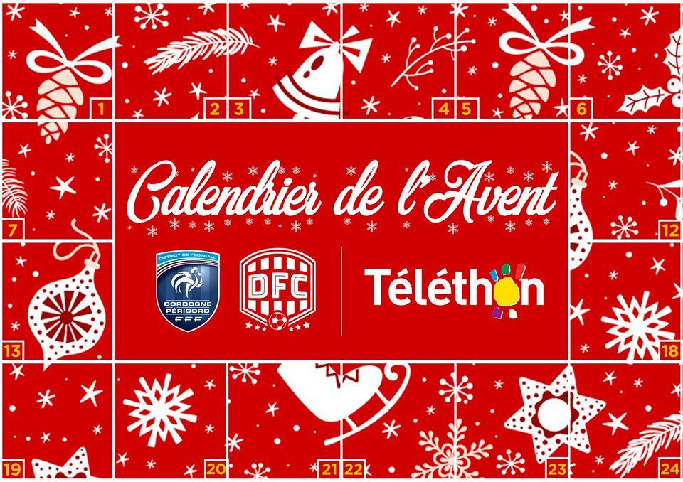 Best practice : Le District de football de Dordogne lance un calendrier de l'Avent digital pour soutenir le Téléthon