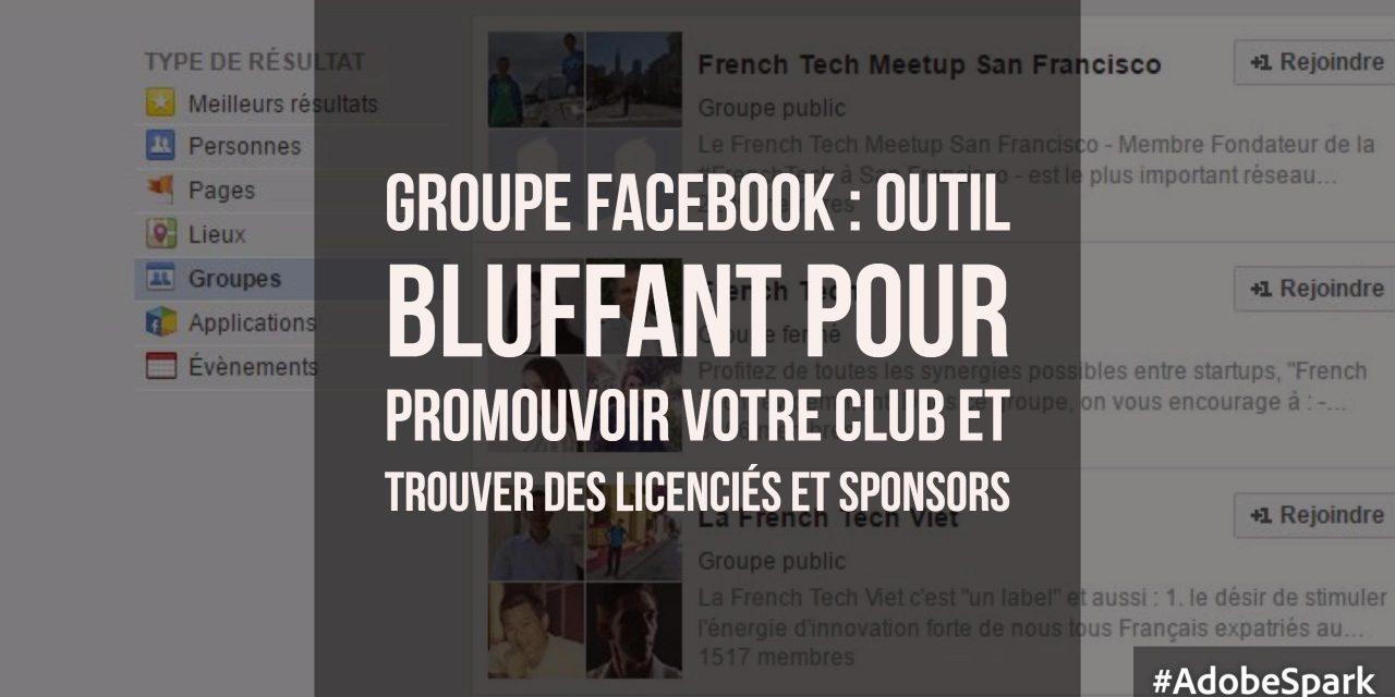 Clubs sportifs : 5 raisons d'être actifs sur les groupes Facebook