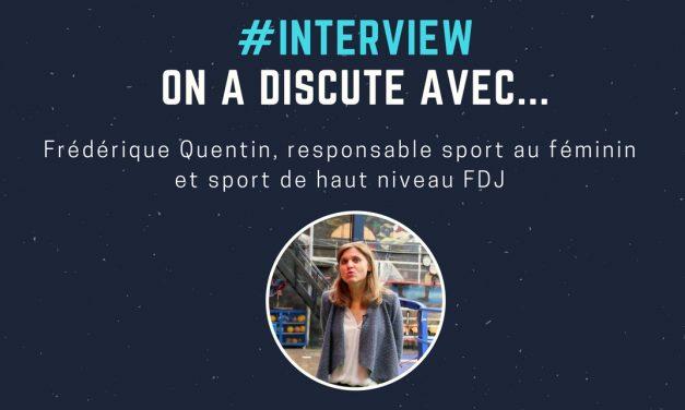 Frédérique Quentin : «Les femmes sont plus présentes sur les réseaux sociaux dans le sport»