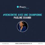 Paoline Ekambi – «Le sportif est un entrepreneur qui s'ignore»