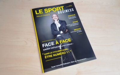 Il a fait le pari de lancer un magazine dédié au marketing du sport en 2018