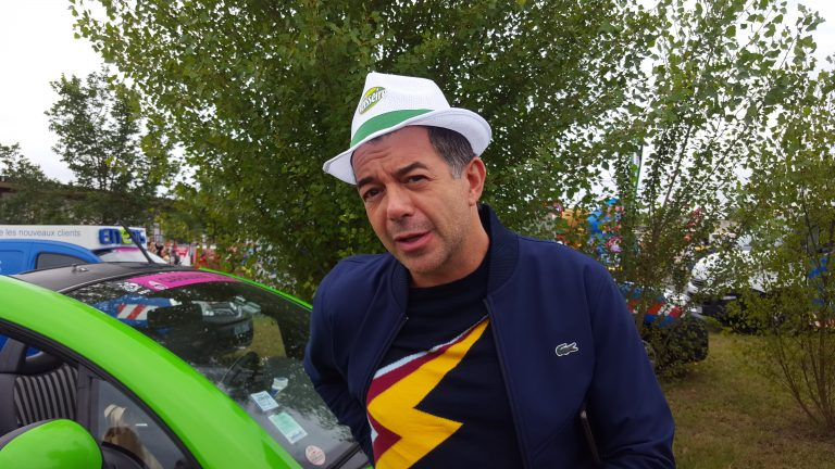 Stéphane Plaza : «J'ai une histoire avec le Tour de France»