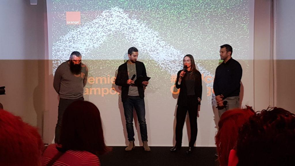 Lancement Podcast Premiers Crampons Orange