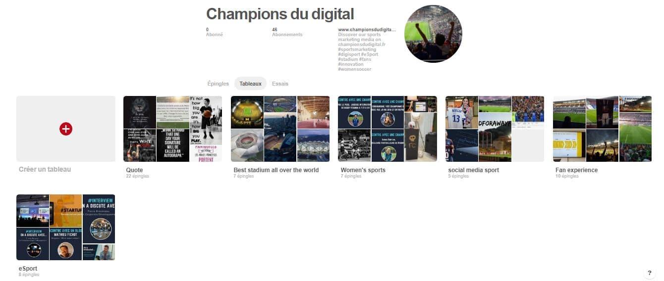 blog sport sur pinterest