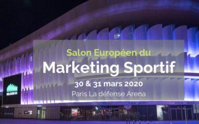 Salon Sportem 2020 : le salon européen du marketing sportif arrive à Paris La Défense Arena les 30 et 31 mars
