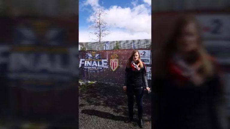 J'ai été instagrameuse pour l'AS Monaco lors de la Finale de Coupe de la Ligue