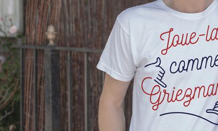 Le T-Shirt Foot : Nos t-shirts sont aussi doux que Cyril Rool (en dehors des terrains)