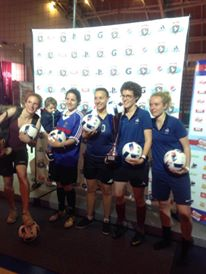 tournoi football féminin Le Five