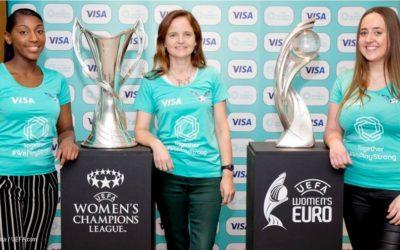Visa devient le premier partenaire du football féminin avec l'UEFA