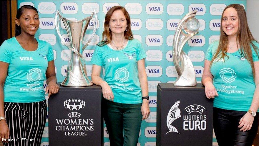Visa premier sponsor du football féminin